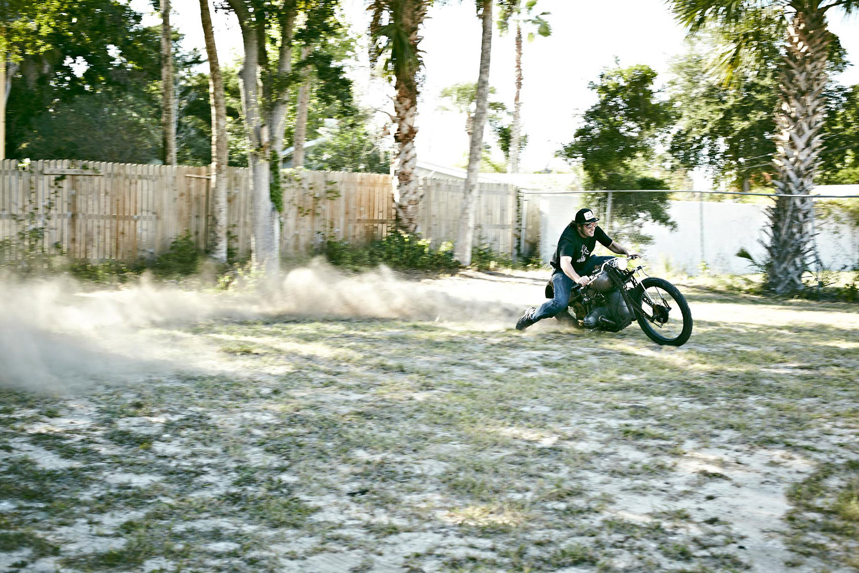Backyard Burnout