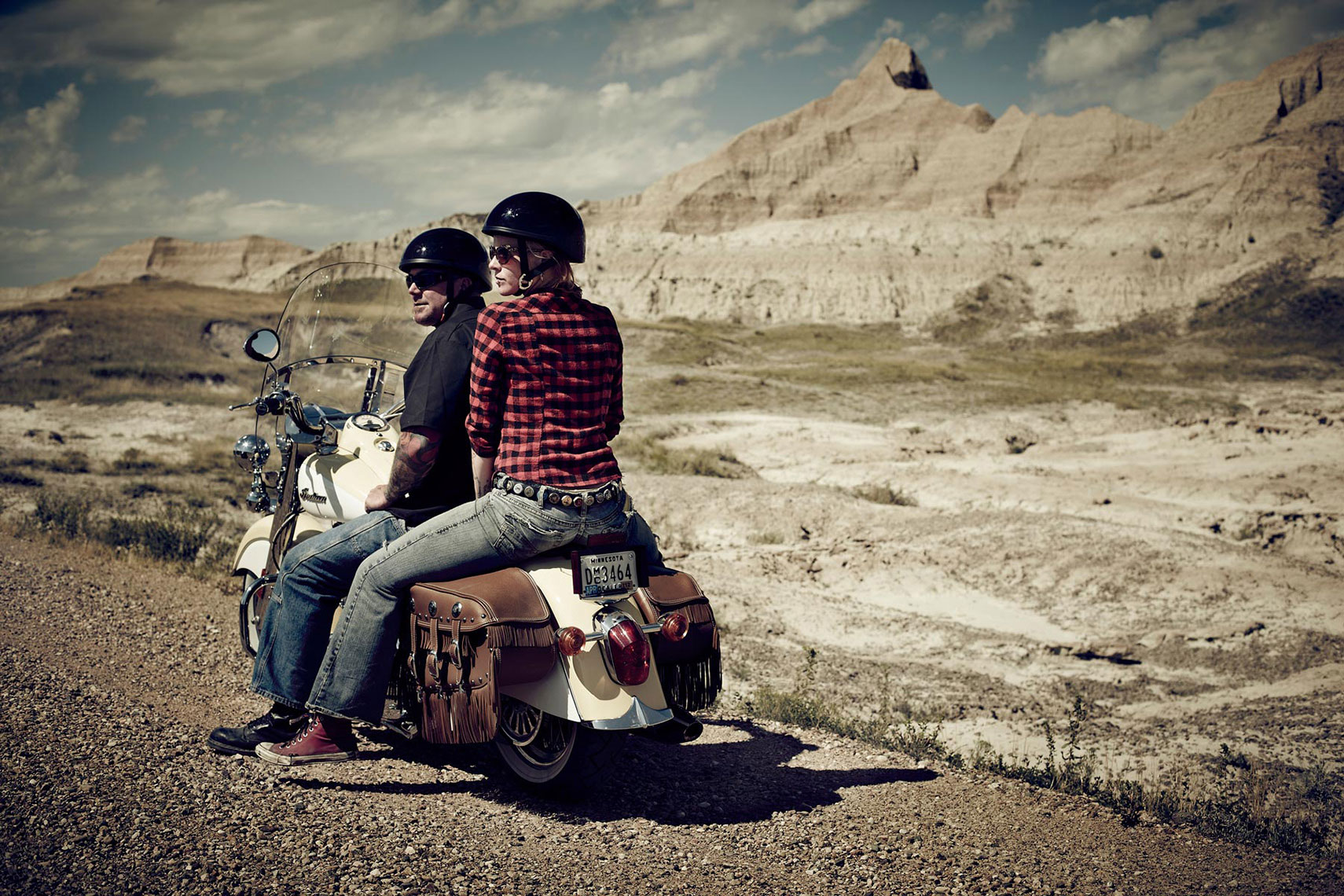 Biking in the Badlands