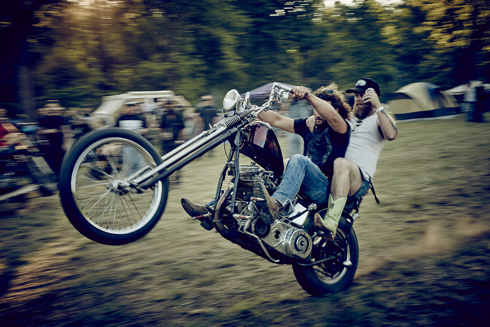 Wild Times at Smokey Mountain Chopper Fest