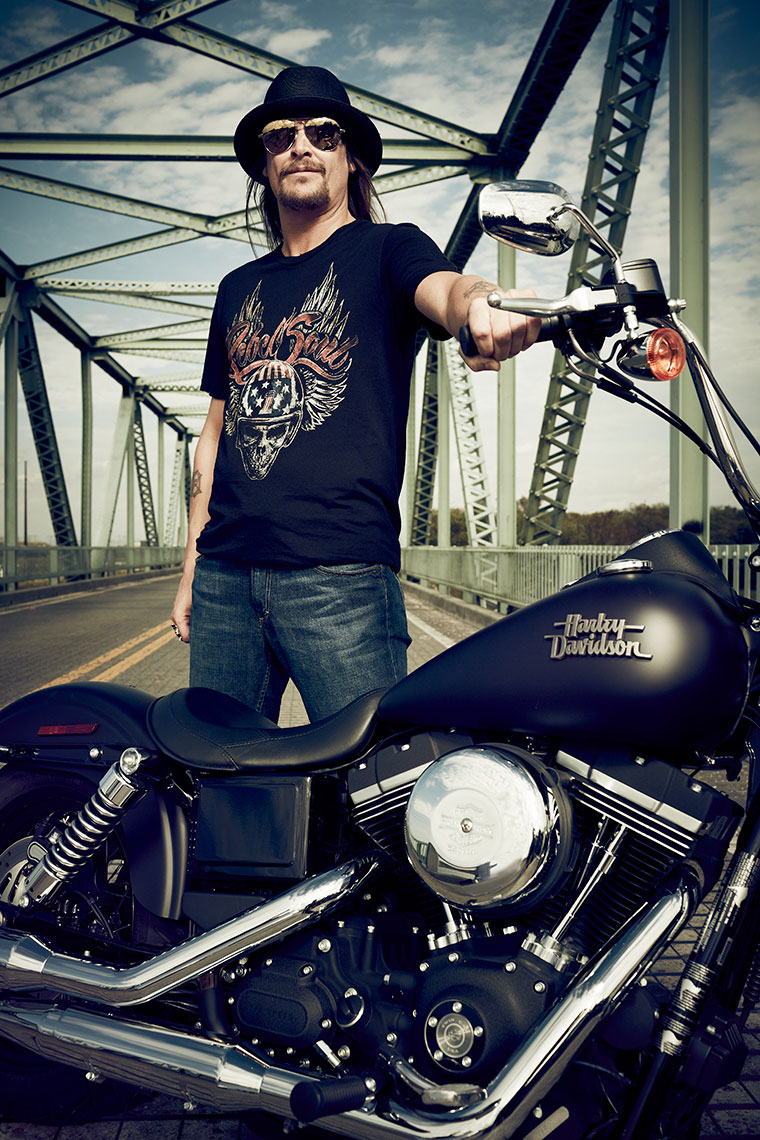 Kid Rock for Harley Davidson